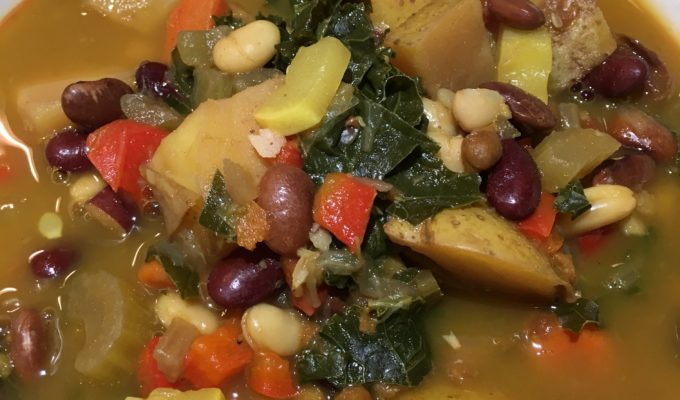 5 Bean Vegetable Stew